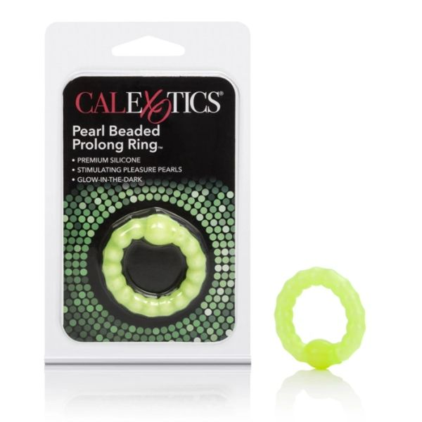 Pearl Beaded Prolong Ring (Glow in the Dark)
