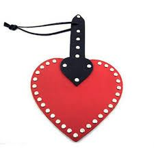 Rouge Garments Heart Shaped Paddles
