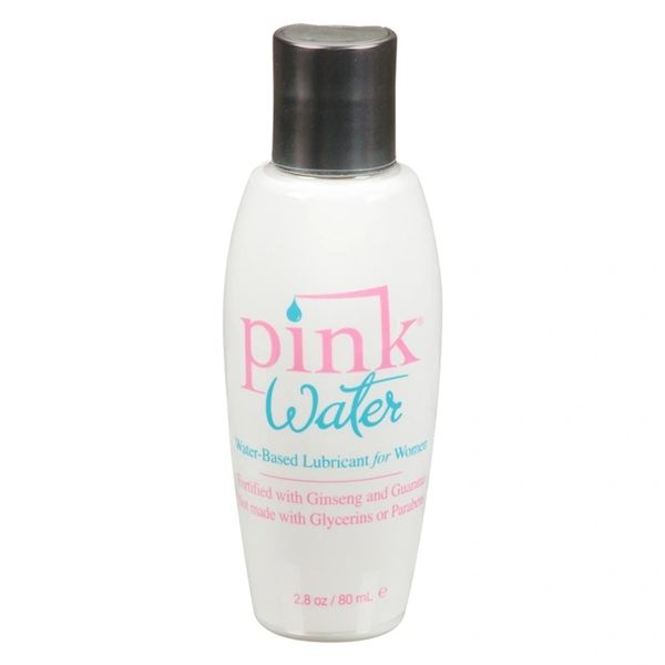 Pink Water Water-Based Lubricant for Women (2 Sizes)