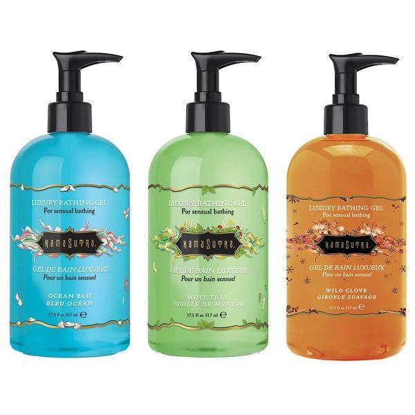 Kama Sutra Luxury Bathing Gel (3 Fragrances)