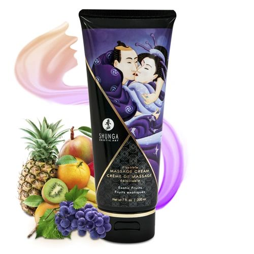 Shunga Kissable Massage Cream (4 Flavours)