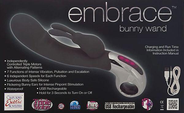 Embrace Bunny Wand