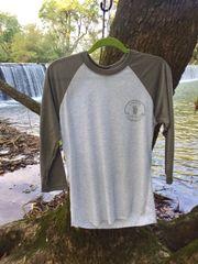 "River Hippie ""Logo Only"" Baseball Shirt"