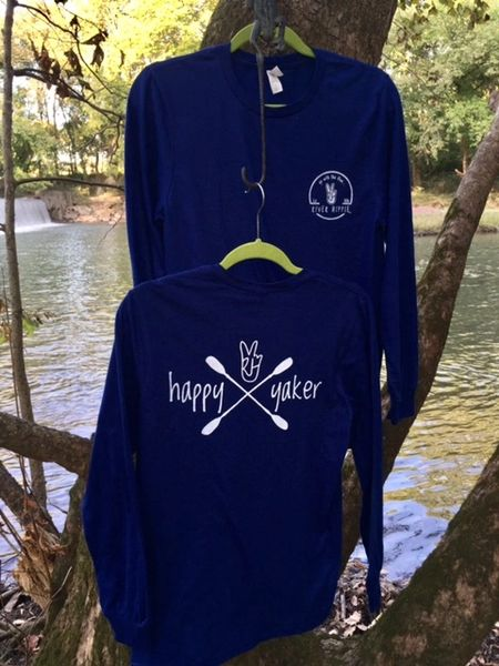 "River Hippie ""Happy Yaker"" Long Sleeve Shirt"