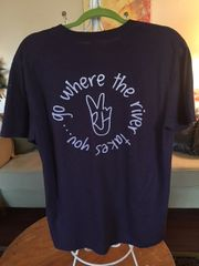 "Short Sleeve Tee ""Go Where the River Takes You"""