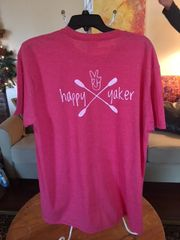 "Short Sleeve Tee""Happy Yaker"""
