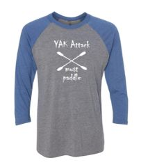 "Baseball Shirt ""Yak Attack"""
