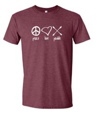 """Peace Love Paddle"" T-Shirt"