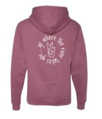 """""""Go Where The River Takes You"""" Hoodie"""