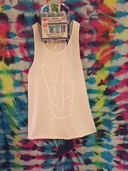 """""""Yak Attack"""" Tank (White on White... Leave alone or TIE DYE)"""