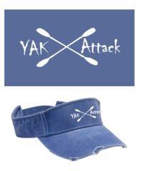 """""""Yak Attack"""" Visor"""