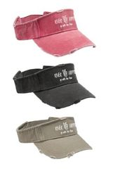 """River Hippie"" Visor"