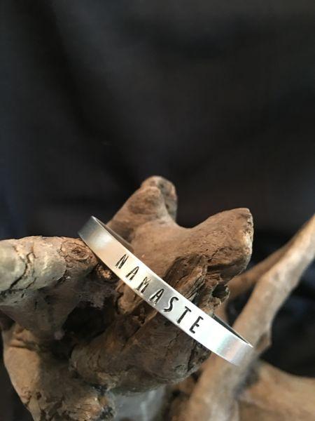 Statement Bracelet (Namaste)