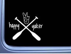 Happy Yaker Decal (6 inches wide)