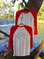 "River Hippie ""Happy Yaker"" Baseball Shirt"