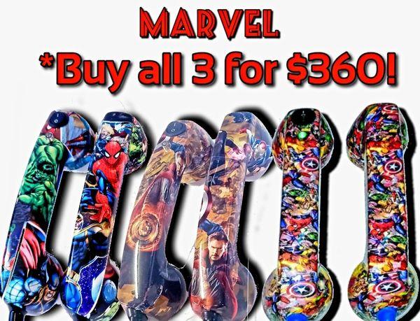 3 sets Continuity Test Phones- Marvel