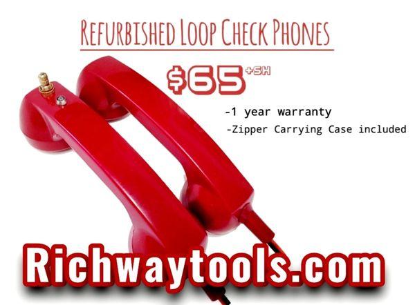Refurbished Loop Check Phones