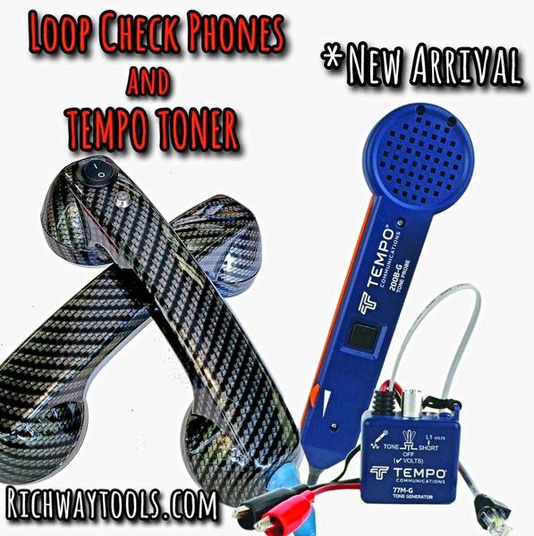 Tempo Toner & Loop Check Phones Combo