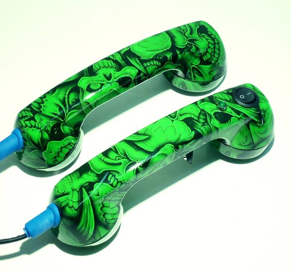 Loop Check Phones,Tracer Phones Continuity Phones GreenMini Skulls Electrician