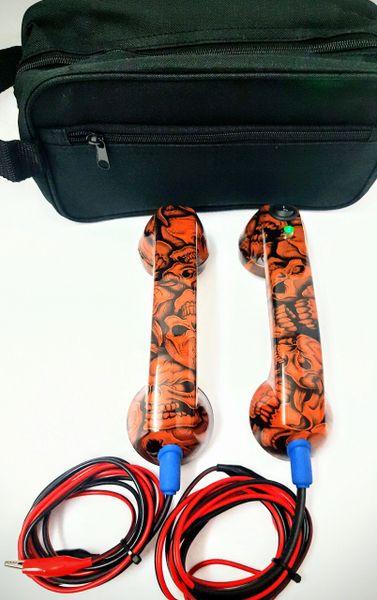 Continuity Test Phones - Orange Skull