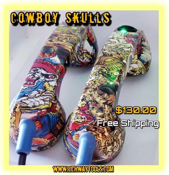Continuity Test Phones - Cowboy Skull
