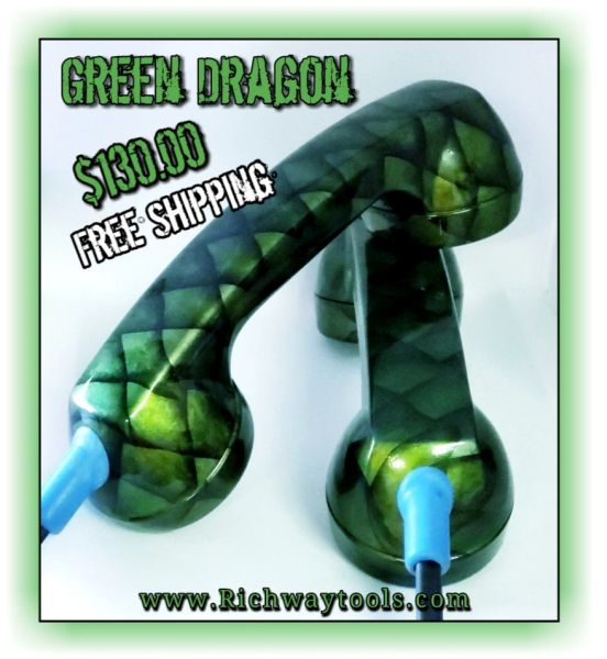 Continuity Test Phones - Green Dragon Scales