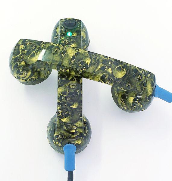 Continuity Test Phones - Yellow Mini Skulls