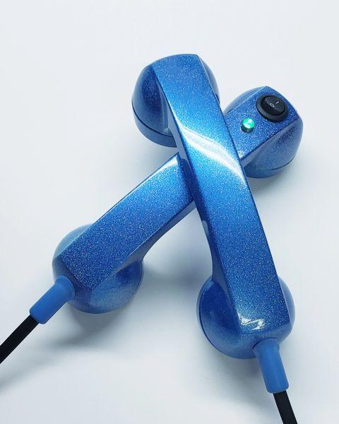 Continuity Test Phones - Blue Metallic
