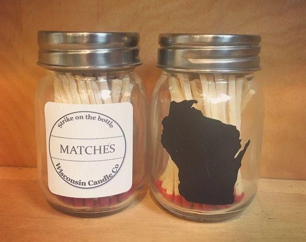 Wisconsin Strike on Bottle Matches