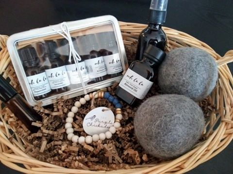 Healthy Home Essential Oils Gift Box