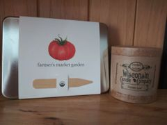 Farmer's Market Garden + Tomato Leaf Candle