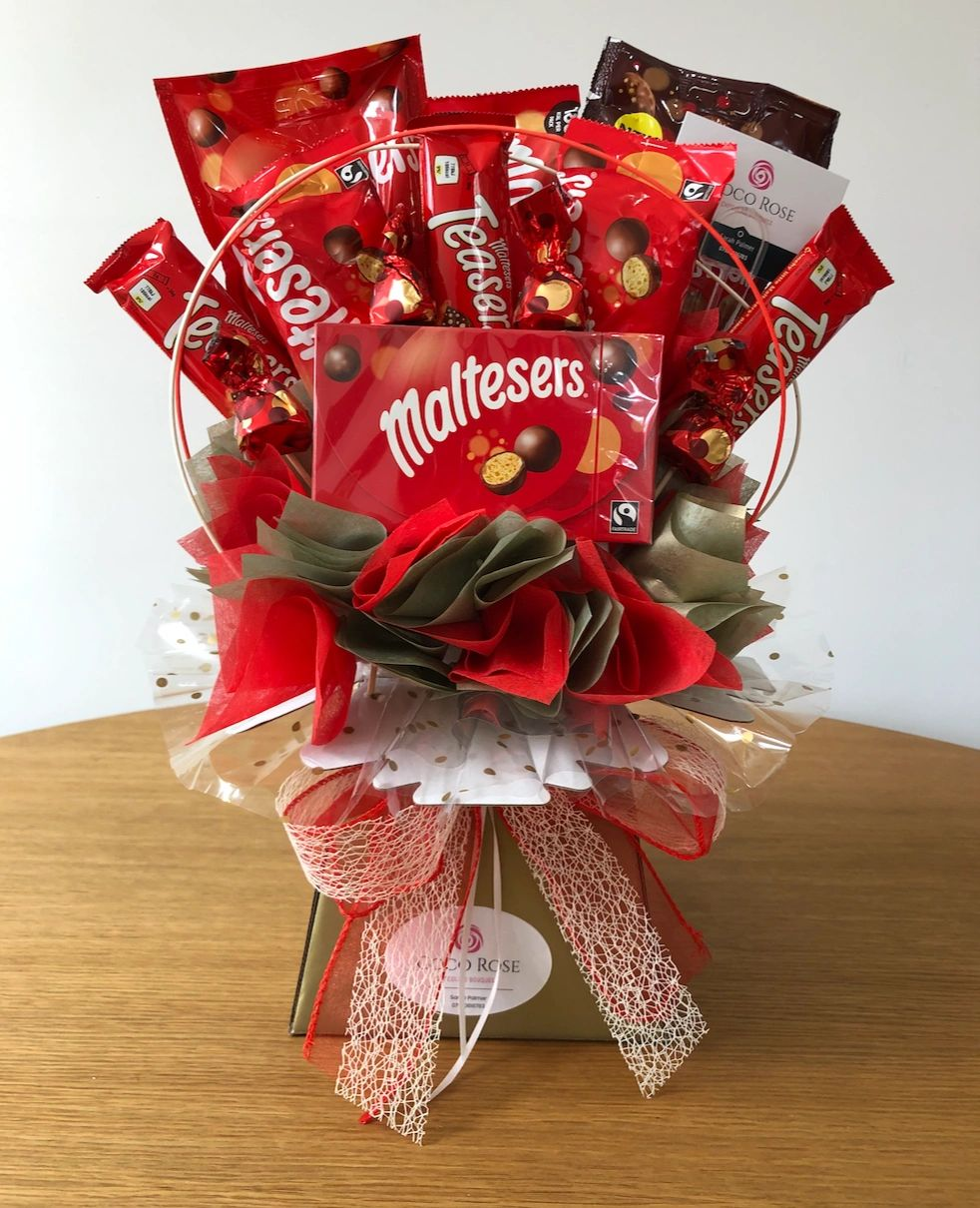 #malteser #florist #christchurch #mudeford  #chocolatebouquet #localdelivery #happybirthday