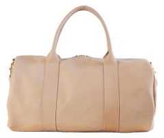 Vegetable Tanned Duffle Bag