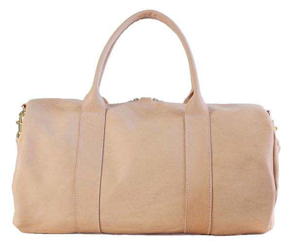 Vegetable Tanned Duffle Bag