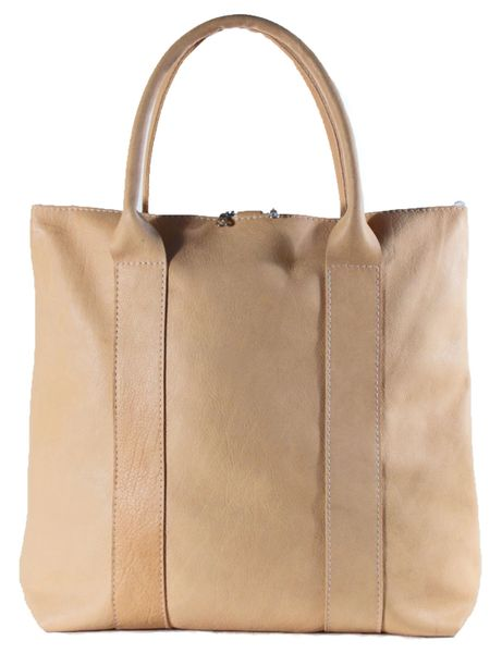Vegetable Tanned Tote Bag