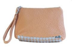 Sheepskin Rivet Clutch