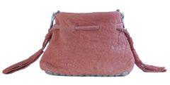 Mini sheepskin Rivet Bucket Bag
