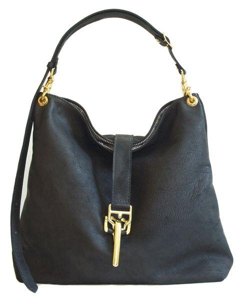 Deerskin Convertible Shoulder Bag