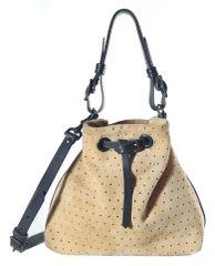 Star Suede Bucket bag