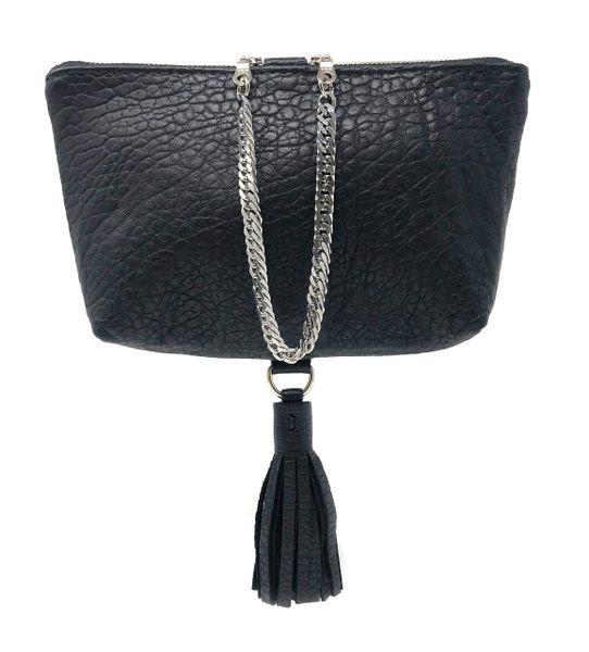 Chain Tassel Wristlet