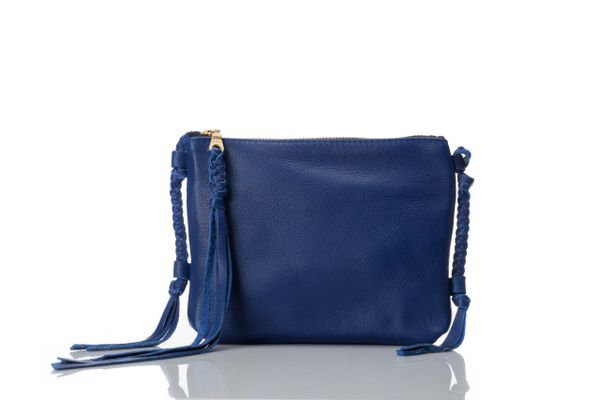 Mini Tassel Cross Body- Cow Hide