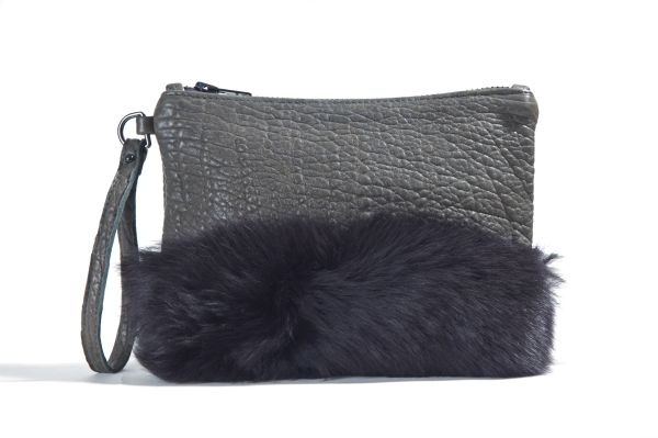 Small Fur Clutch