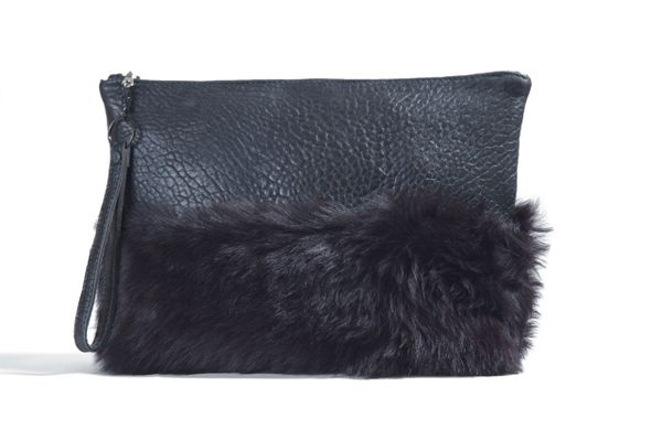 Large Fur Clutch