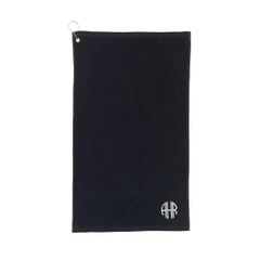 Black Golf Towel
