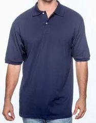 Jerzees Men 5.6 oz., 50/50 Jersey Polo with SpotShield