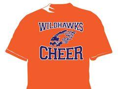 Wildhawks DriFit Cheer T-Shirt