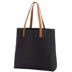 Black Game Day Tote Bag