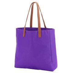 Purple Game Day Tote Bag