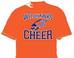 Wildhawks Cheer T-Shirt