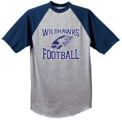 Wildhawks Football Baseball Jersey